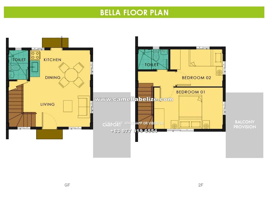 Bella  House for Sale in Dasmarinas City