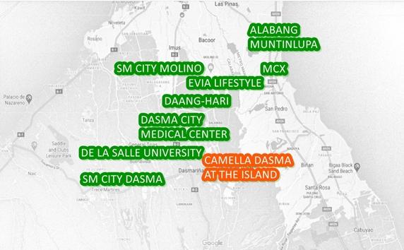 Belize Property Vicinity Map